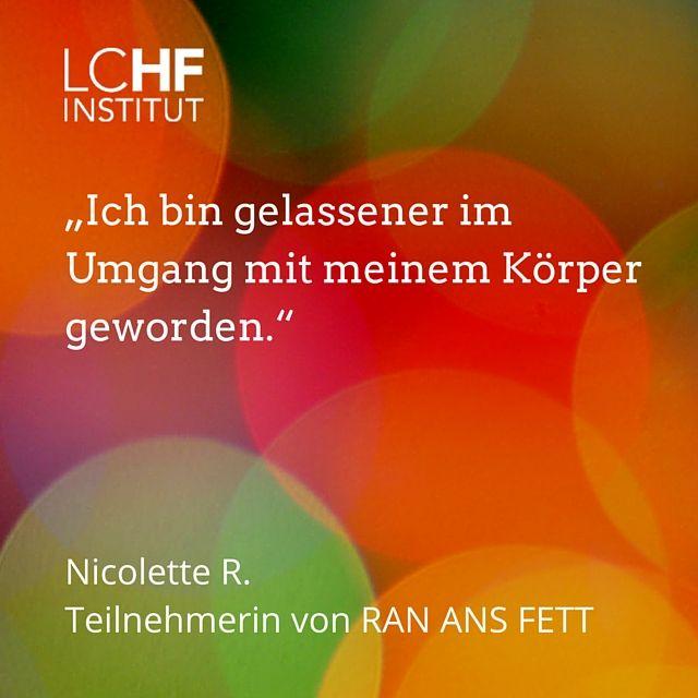 LCHF, Abnehmen ohne zu Hungern, Low Carb, Ran ans Fett, Online-Kurz, LCHF Erfahrungen